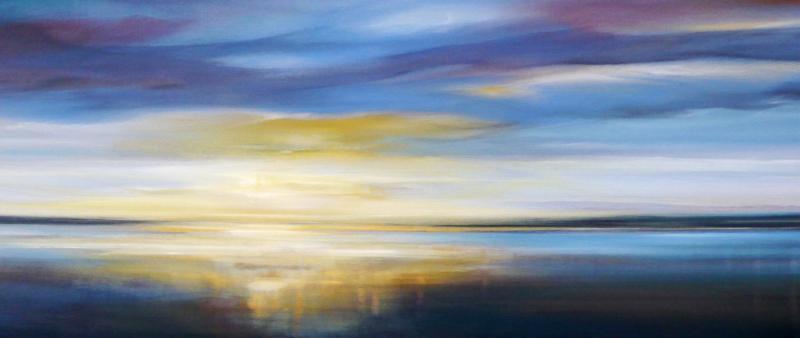Faszination Himmel und Meer in Acryl