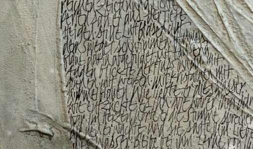 Gestalten mit Schrifttexturen