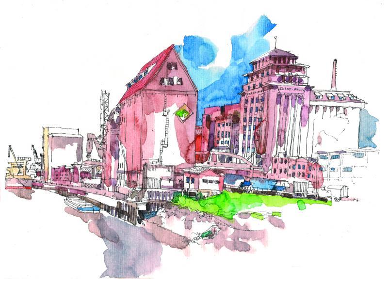 Urban Sketching - Aufbaukurs