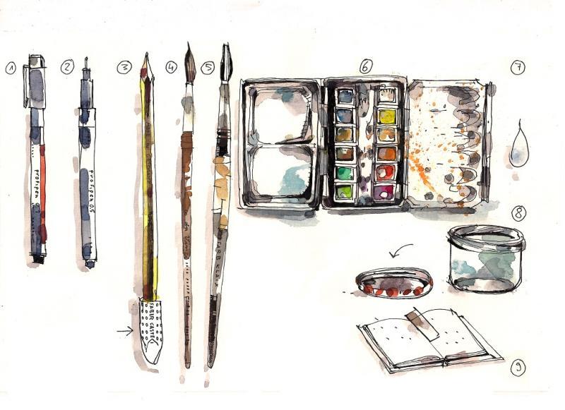 Urban Sketching - Einsteigerkurs