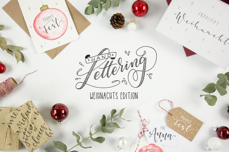 Handlettering - Weihnachtsedition
