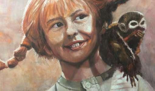 Porträtmalerei in Öl