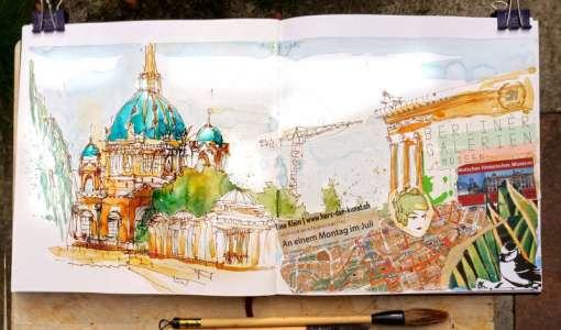 Zauberhaftes Skizzenbuch